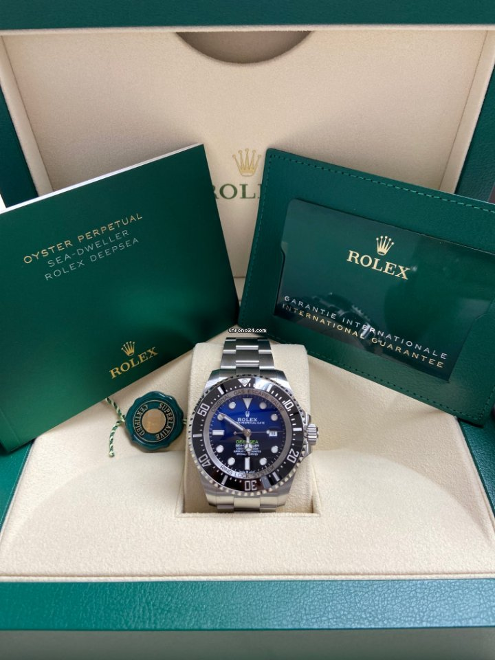Rolex Sea-Dweller Deepsea 126660 Deepsea 2018 2021 new