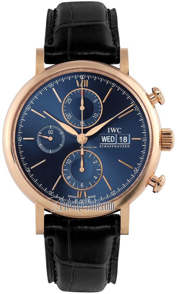 IWC Portofino Chronograph IW391035 2021 новые