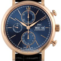 IWC IW391035 Pозовое золото 2021 Portofino Chronograph 42mm новые