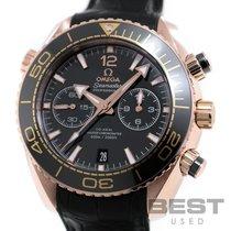 Omega Remontage automatique Noir 46mm occasion Seamaster Planet Ocean Chronograph