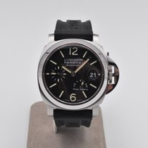 Panerai Luminor Power Reserve pre-owned 40mm Black Date Rubber