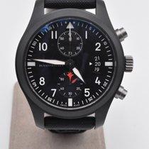 IWC Pilot Chronograph Top Gun Ceramic 46mm Black Arabic numerals United States of America, Texas, Houston