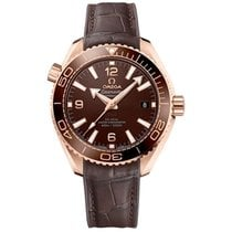 Omega Seamaster Planet Ocean Rose gold 39.5mm Brown Arabic numerals United States of America, Pennsylvania, Holland