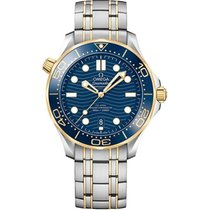 Omega Seamaster Diver 300 M Gold/Steel 42mm Blue United States of America, Pennsylvania, Holland