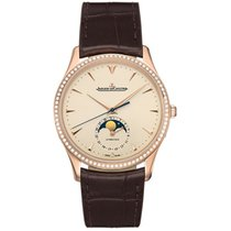 Jaeger-LeCoultre Master Ultra Thin Moon Rose gold 39mm Champagne United States of America, Pennsylvania, Holland