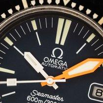 Omega Seamaster PloProf Acero 45mm Negro Sin cifras