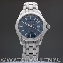 Omega 2511.81 Steel 1995 Seamaster 36.2mm pre-owned United States of America, New York, White Plains