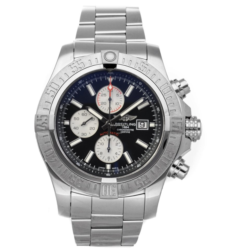 Breitling Super Avenger II A1337111/BC29/168A pre-owned