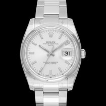 Rolex Oyster Perpetual Date Steel 34mm Silver United States of America, California, Burlingame