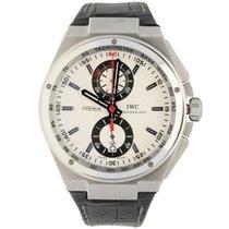 IWC Big Ingenieur Chronograph Acero 45.5mm Blanco Sin cifras