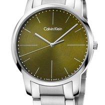 ck Calvin Klein Steel 43mm Quartz K2G2G14L new