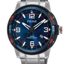 Pulsar Steel 45mm Quartz PS9477X1 new