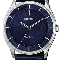 Citizen Steel 40mm Quartz BM7400-12L new