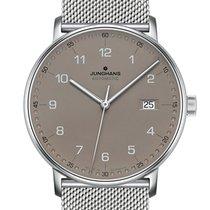 Junghans FORM A neu Automatik Uhr mit Original-Box und Original-Papieren 027/4836.44