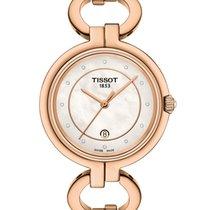 Tissot Flamingo neu Quarz Uhr mit Original-Box und Original-Papieren T094.210.33.116.01