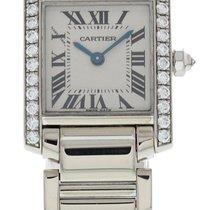 Cartier Tank Française White gold 23mm White United States of America, New York, New York