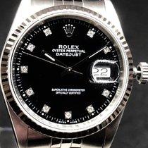 Rolex Datejust Acciaio 36mm Nero Italia, San Giovanni Valdarno