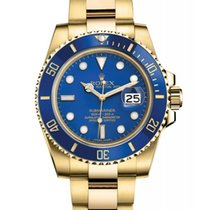 Rolex Submariner Date 116618LB New Yellow gold 40mm Automatic United States of America, New Jersey, Woodbridge