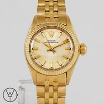 Rolex Oyster Perpetual 26 Yellow gold 26mm