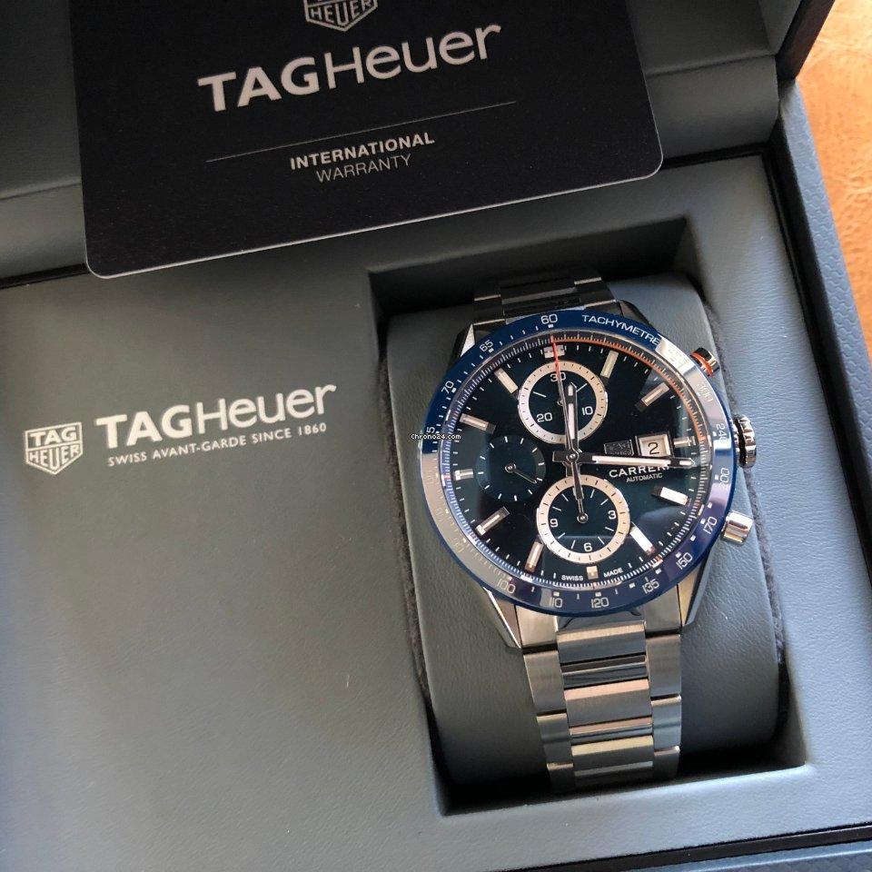 TAG Heuer Carrera Calibre 16 CBM2112.BA0651 2021 new