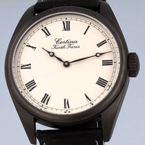 Certina pre-owned Manual winding 40mm Silver Sapphire crystal