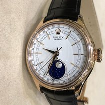 Rolex Cellini Moonphase Ροζέ χρυσό 39mm