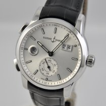 Ulysse Nardin Dual Time Steel 42mm Silver No numerals United States of America, Ohio, Mason