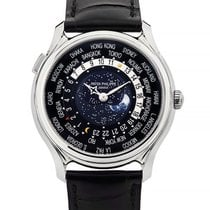 Patek Philippe World Time White gold 39.8mm Black United States of America, New York, New York