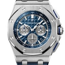 Audemars Piguet Royal Oak Offshore Titanium 42mm Blue No numerals United States of America, New York, New York