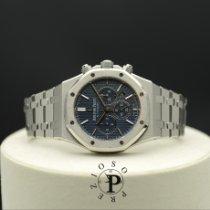 Audemars Piguet Royal Oak Chronograph Steel 41mm Blue No numerals