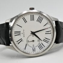 Zenith Steel Automatic White Roman numerals 40mm pre-owned Elite Ultra Thin