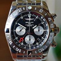Breitling Chronomat 44 GMT Сталь Черный