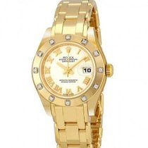 Rolex 80318 Yellow gold Lady-Datejust Pearlmaster 29mm new United States of America, California, Newport Beach