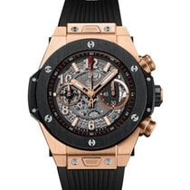 Hublot Big Bang Unico new Automatic Chronograph Watch with original box and original papers 411.OM.1180.RX
