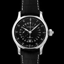 Longines Steel Automatic Black 48mm new Twenty-Four Hours