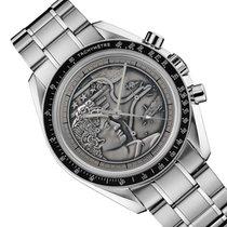 Omega Speedmaster Professional Moonwatch nuovo 2015 Manuale Cronografo Orologio con scatola e documenti originali 311.30.42.30.99.002