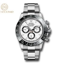 Rolex Steel Automatic White No numerals 40mm new Daytona