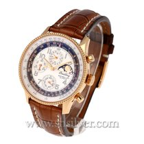Breitling Montbrillant Olympus Rose gold 42mm Silver United States of America, California, Redwood City