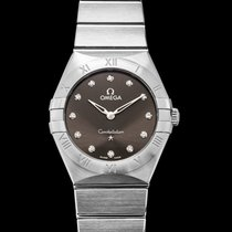 Omega Constellation Quartz Steel 28mm Grey United States of America, California, Burlingame