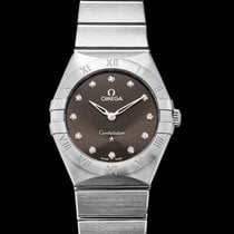 Omega Steel Quartz Grey 28mm new Constellation Quartz
