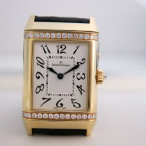 Jaeger-LeCoultre Yellow gold Manual winding White Arabic numerals 38.5mm pre-owned Reverso Duetto Duo