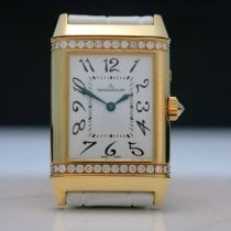 Jaeger-LeCoultre Reverso Duetto Duo Or jaune 38.5mm Blanc Arabes