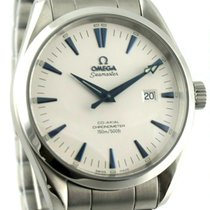 Omega Steel Automatic White 42.2mm pre-owned Seamaster Aqua Terra