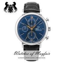 IWC Portofino Chronograph nuevo Automático Reloj con estuche y documentos originales IW391036