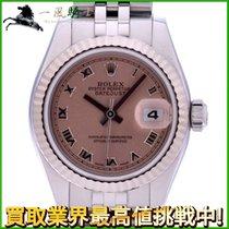 Rolex Lady-Datejust Stahl 26mm Pink
