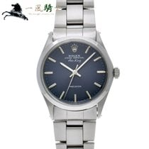 Rolex Air King Precision Stahl 34mm Blau