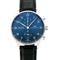 IWC Portuguese Chronograph Acero 41mm Azul