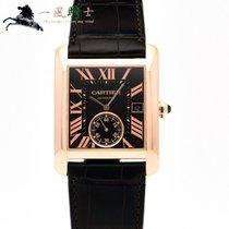Cartier Tank MC Ouro rosa 44mm Castanho