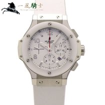 Hublot Big Bang 44 mm pre-owned 44mm White Chronograph Rubber