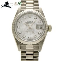 Rolex Lady-Datejust Oro blanco 26mm Blanco